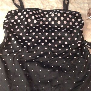 POLKA DOTS SWIMSUIT ONE PIECE